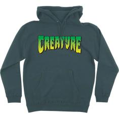 CREATURE LOGO HD/SWT S-ALPINE GREEN