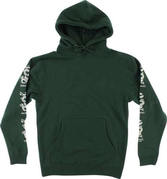 5BORO JOIN OR DIE SNAKE HD/SWT S-ALPINE GREEN