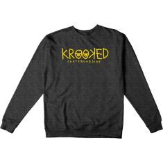 KRK KRKD EYES CREW/SWT S-CHARCOAL HEATHER
