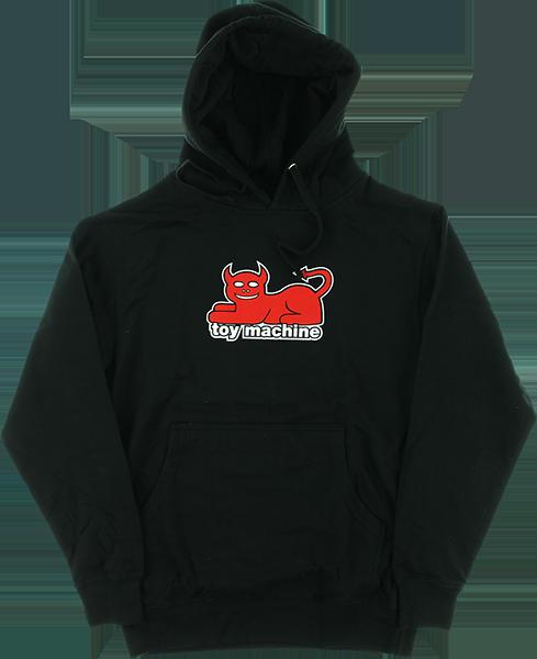 TM DEVIL CAT HD/SWT S-BLACK