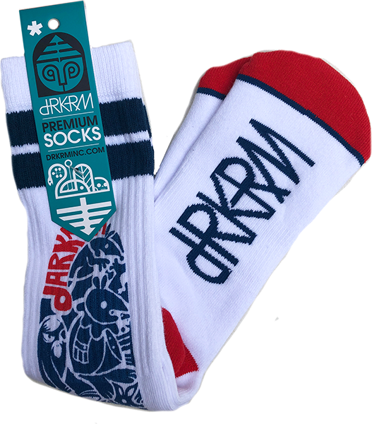 DARKROOM ANGEL DUST CREW SOCKS 1pr