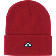 THANK YOU CLOUDY BEANIE RED