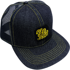 DARKROOM DENIM SPEED CAP HAT DENIM BLUE