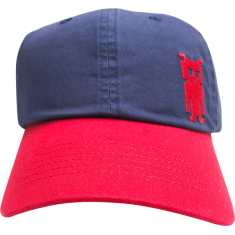 DARKROOM WASHED INVADER TWILL HAT NAVY