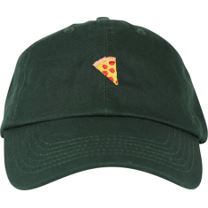 PIZZA EMOJI HAT ADJ-GREEN