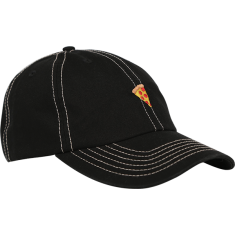 PIZZA EMOJI HAT ADJ-BLACK STONE