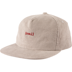 REAL LOWER  HAT ADJ-LT.GRY/RED
