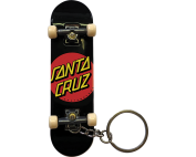 SC CLASSIC DOT FINGERBOARD KEYCHAIN BLK/RED