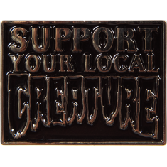 CREATURE SUPPORT PIN BLACK