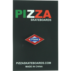 PIZZA SOL ENAMEL PIN