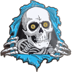 PWL/P RIPPER LAPEL PIN BLUE