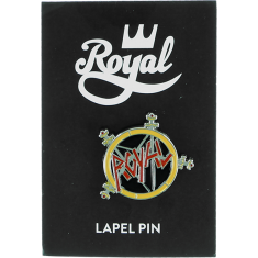 ROYAL METAL LOGO ENAMEL PIN