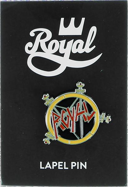 ROYAL METAL LOGO ENAMEL PIN