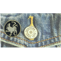 SUICIDAL JESSEE ROOSTER PIN