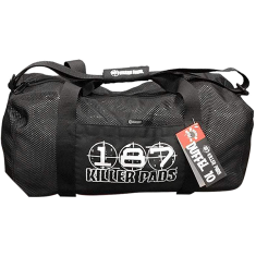 187 MESH DUFFEL BAG BLACK