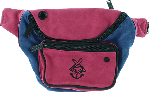 BUMBAG DELUXE FRIENDSHIP PINK/BLU