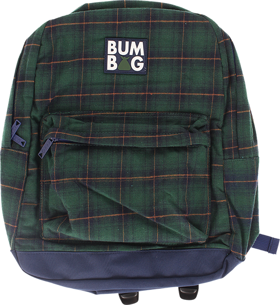 BUMBAG SCOUT BACKPACK FLANDERS GRN PLAID