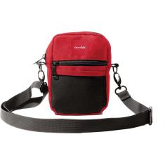 CHOC SHOULDER BAG RED/BLK