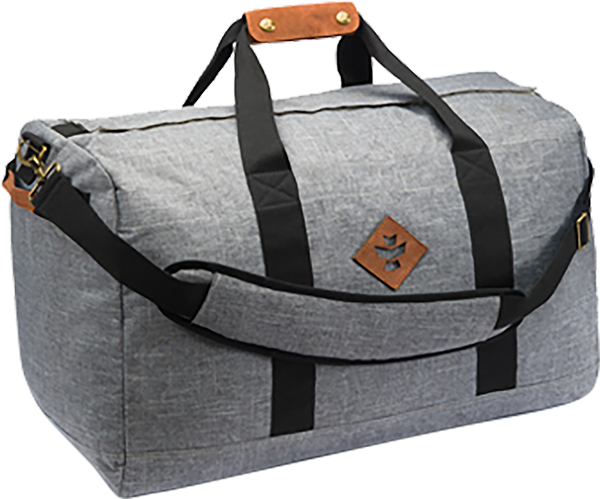 REVELRY AROUND-TOWNER DUFFLE 72L CROSSHATCH GREY