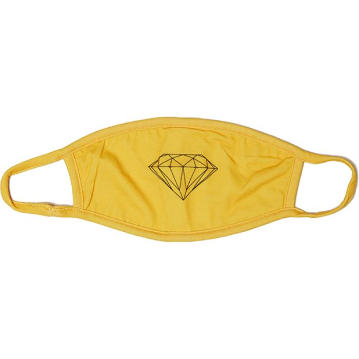 DIAMOND FACE MASK - BRILLIANT YEL