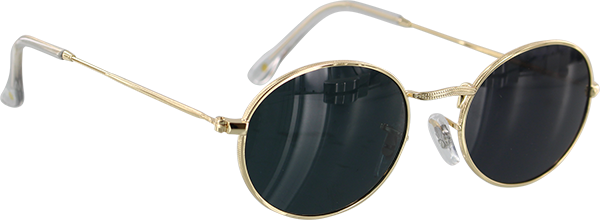 GLASSY CAMPBELL GOLD SUNGLASSES POLARIZED