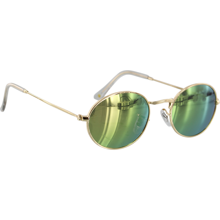 GLASSY CAMPBELL GOLD/PINK MIRROR POLARIZED