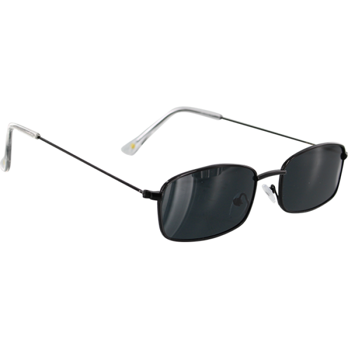 GLASSY RAE BLACK SUNGLASSES POLARIZED