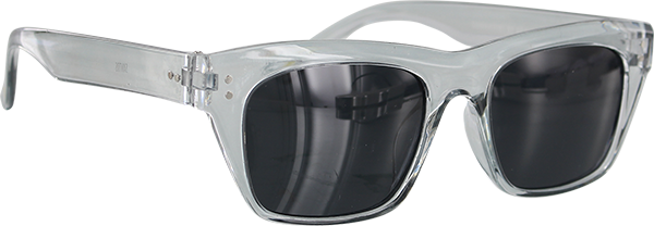 GLASSY SANTOS CLEAR SUNGLASSES POLARIZED