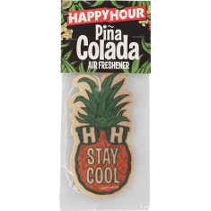 HAPPY HOUR AIR FRESHENER MR PINEAPPLE