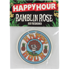 HAPPY HOUR AIR FRESHENER RAMBLIN ROSE