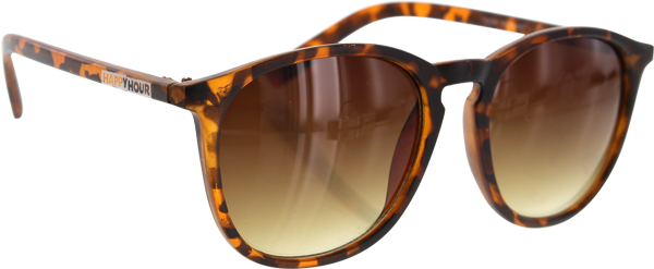 HAPPY HR DICKSON FLAP JACKS FROSTED TORTOISE/AMBER