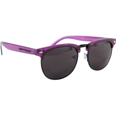 HAPPY HOUR HERMAN G2 VIOLET STARDUST SUNGLASSES