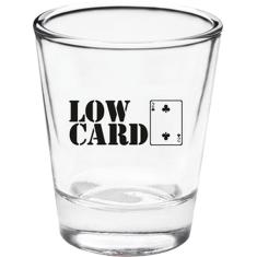 LOWCARD GOOD DECISIONS SHOT GLASS