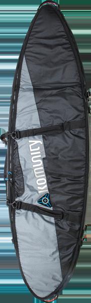 """KOMUNITY ARMOUR DOUBLE TRAVELER BOARD BAG 6'-8"""""""