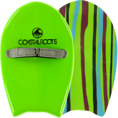 COASTAL ROOTS ORIGINATOR HANDPLANE LIME fiberglass