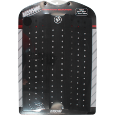 BLOCK FRONT FOOT CENTER TRACTION BLACK