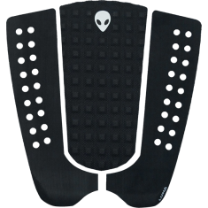 LUNASURF 3pc MIXED GROOVE NO ARCH TAIL PAD BLACK