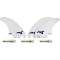 FIN-S PRODUCTION SET AM-1 WHITE 3 fins/3boxes sale