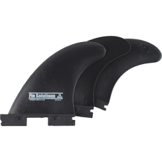 FIN SOLUTIONS FFS SMALL BLACK 3fin set