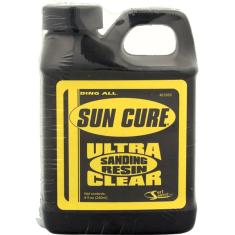 SUN CURE 1/2 PINT SANDING RESIN