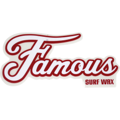 "FAMOUS LOGO 7"" DECAL single"