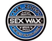 "SEXWAX CIRCLE 3"" DECAL ASSORTED"