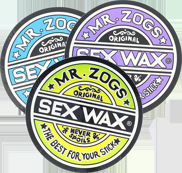 "SEXWAX CIRCLE 7"" DECAL ASSORTED"