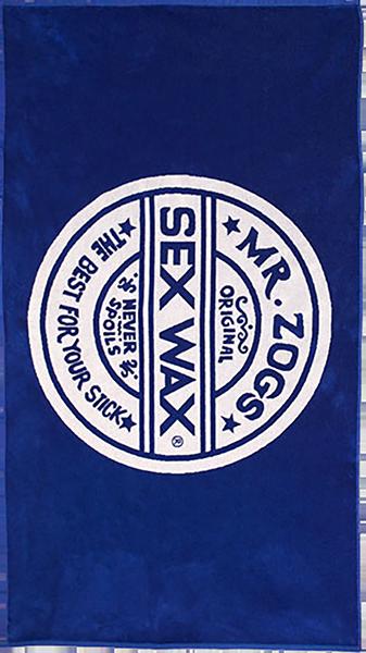 SEXWAX TOWEL BLUE