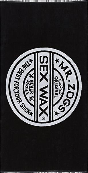 SEXWAX TOWEL BLACK