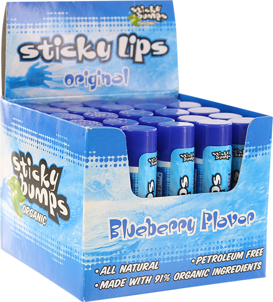 SB LIP BALM ORIGINAL BLUEBERRY 25/pck