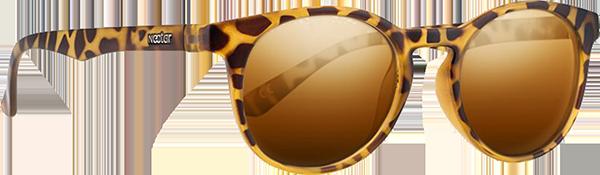 NECTAR TRAVELLER POLARIZED BROWN TORTOISE/GOLD