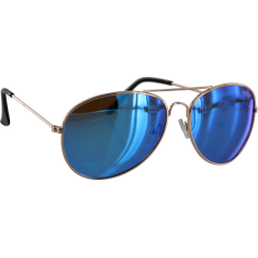 NECTAR MAVERICK POLARIZED GOLD/BLUE