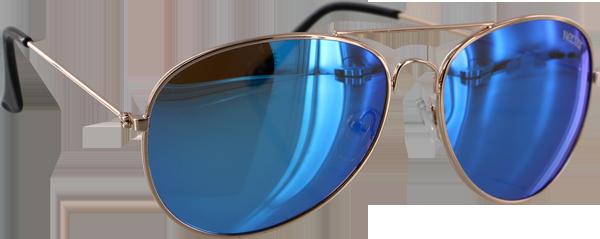 NECTAR MAVERICK POLARIZED GOLD/BLUE