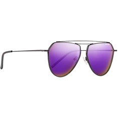 NECTAR IRIS POLARIZED BLK/PURPLE